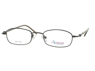 BonBon Kids Glasses BB917 Gunmetal Metal Frame
