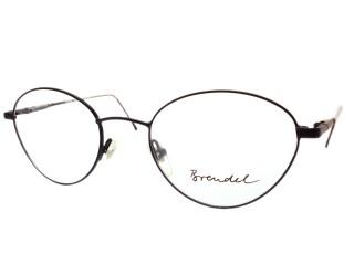 Brendel Eyewear 4596 Matte Black Tortoise Eyeglasses