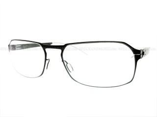 ByWP Eyewear BY 9003 Graphite Gray Stainless Steel Frame 53mm Size