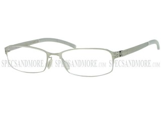 ByWP Eyewear BY 7505 Stainless Steel Brushed Silver Eyeglasses