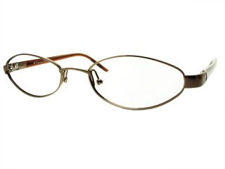 Vintage New Christian Dior 3596 Bronze (19S) Metal Eyeglasses