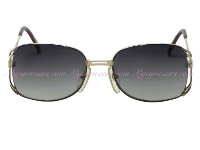 14c78e9f030a7 Christian Dior-Vintage New Christian Dior 2694 Black   Gold Metal ...