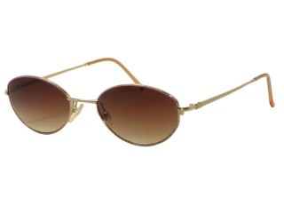 Vintage New Christian Dior 3547 Gold Metal Sunglasses