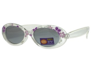 For Girls Sunglasses Flower Purple Sun