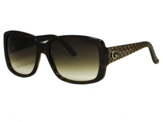 Gucci GG3161 Dark Brown Sunglasses URD/JS