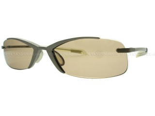 Sass EDIE Brown futuristic Sunglasses