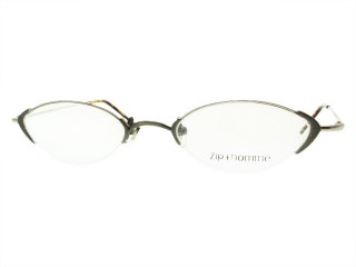 Zip Homme Eyeglasses Z 0097 Titanium with clip on