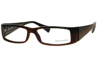 Alain Mikli AL0418 Eyeglasses 0122 Color Hand Made In France AL04180122