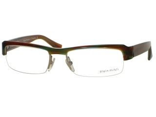 Alain Mikli AL0813 Eyeglasses 0023 Color Hand Made In France