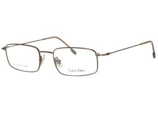 Calvin Klein Eyewear 291 Gunmetal stainless steel Eyeglasses