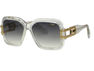 Genuine Cazal 623 Legends 65 Clear Gold Sunglasses