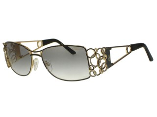 Genuine Cazal 9008 302 Blk / Gold Color Sunglasses