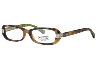 Coach HC6004 Lily 5031 Tortoise Eyeglasses 50mm