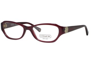 Coach HC6009 Violet 5029 Burgundy Eyeglasses 50mm