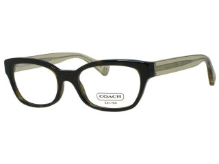 Coach HC6042 Hadley 5120 Dark Tortoise Eyeglasses 50mm