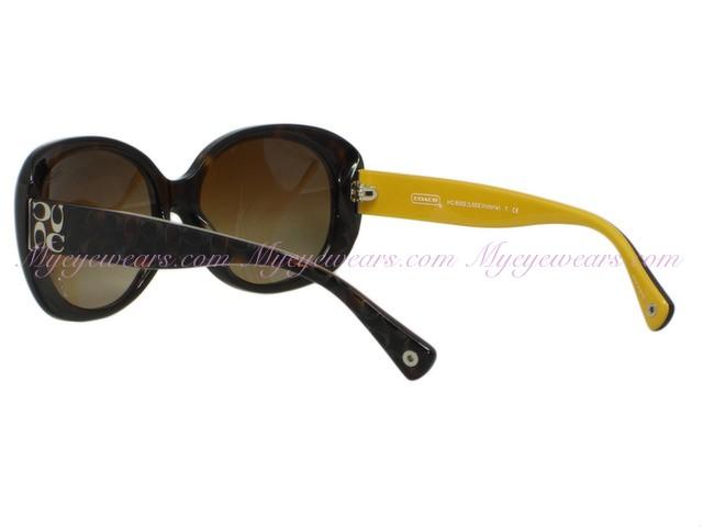 f1a9fbece97f Coach-Coach HC8002 Victoria 5055/13 Dark Tortoise Sunglasses ...