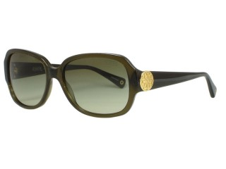 Coach HC8015 Allie 5030/8E Dark Olive Sunglasses