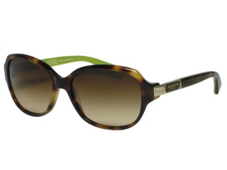 Coach HC8039 Annette 5040/13 Tortoise Brown Sunglasses