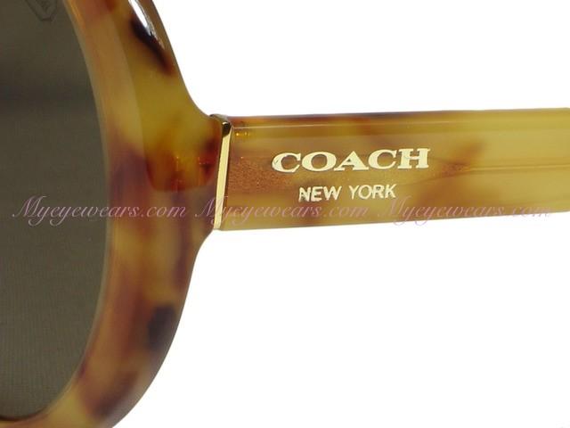 710e323787c30 Coach-Coach HC8046 Patty 5092 73 Amber Vintage Tortoise Sunglasses ...