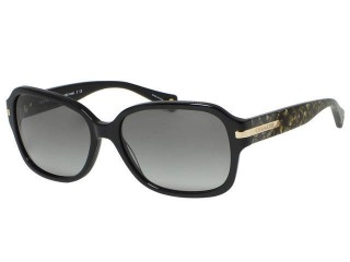 Coach HC8105 Amber 5226/11 Black Sunglasses