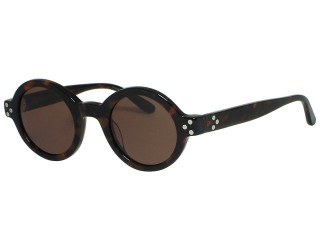 Converse Eyewear Retro Focus Round Tortoise Sunglasses