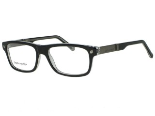 Dsquared2 DQ5103 DQ 5103 003 Black Crystal Eyeglasses