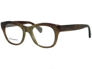 Dsquared2 DQ5106 DQ 5106 055 Havana Eyeglasses
