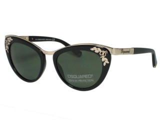 Dsquared2 DQ0096 DQ0096 01N Black Sunglasses
