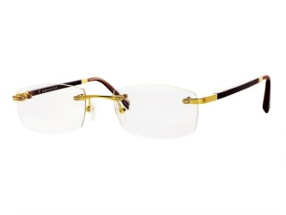 Exottica Glasses EX1502 Genuine Buffalo Horn Frameless