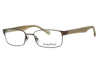 Lucky Brand  Eyewear Maxwell Matte Dark Brown Eyeglasses