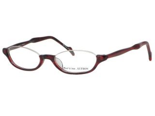Martine Sitbon Eyewear 6245 Red Plastic Eyeglasses