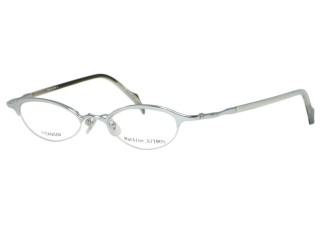Martine Sitbon Eyewear 6719 Shiny Siver Titanium Eyeglasses