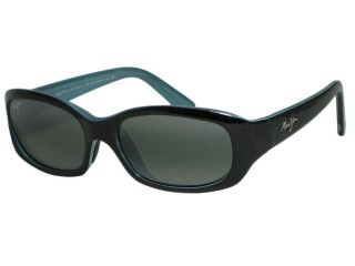 Maui Jim Punchbowl 219-03 Black / Blue Polarized Sunglasses