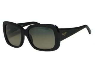 Maui Jim Lani GS239-02 Gloss Black Polarized Sunglasses