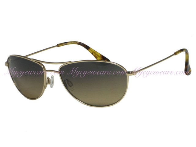 ced78e42675b1 Maui Jim-Maui Jim Baby Beach HS245-16 Gold Polarized Sunglasses ...