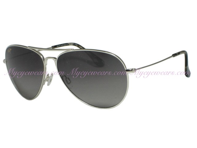 173b432d6c Maui Jim-Maui Jim Mavericks GS264-17 Silver Polarized Sunglasses-specsandmore.com  - Online Sale shop at specsandlens.com