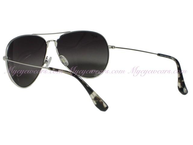 e413eaa53bacd Maui Jim-Maui Jim Mavericks GS264-17 Silver Polarized Sunglasses ...
