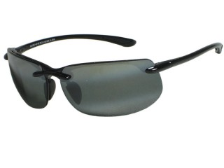 Maui Jim Banyans 412-02 Gloss Black Polarized Sunglasses