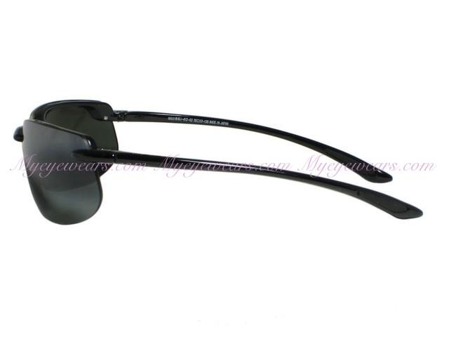 6699d81d68b24 Maui Jim-Maui Jim Banyans 412-02 Gloss Black Polarized Sunglasses ...