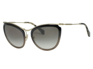 Miu Miu SMU51P Moir DHK/0A7 Black Gradient Brown