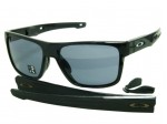 Oakley Crossrange OO9361-01 Shiny Black Sunglasses