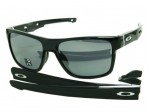 Oakley Crossrange OO9361-02 Shiny Black Sunglasses