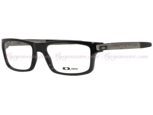 ff37916a93ed Oakley-Oakley Currency OX8026-0554 Black Eyeglasses- - Online Sale ...