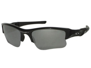 Oakley Flak Jacket XLJ OO03-915 Jet Black Sunglasses