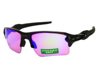 Oakley Flak2.0XL OO9188-05 Shiny Black Prizm Sunglasses