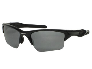 Oakley Half Jacket 2.0 XL OO9154-01 Black Sunglasses