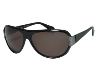 Oliver Peoples MALLOY Black Plastic Sunglasses