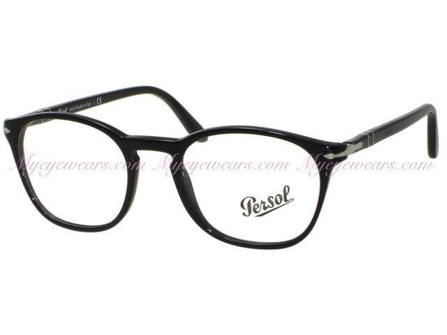 d0f73348ec7bf Persol-Persol PO3007v Eyeglasses 95 Black 48