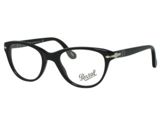 Persol PO3036v Eyeglasses 95 Black 48, 50mm