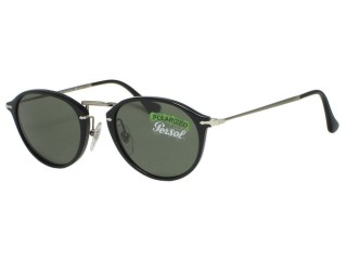 Persol PO3046s Reflex Edition 95/58 Black Polarized